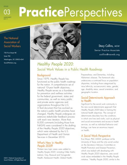 PracticePerspectives Healthy People 2020 - National Association of ...