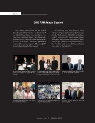 2010 AAO Annual Session - Dental Press