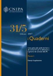 Manuale 31/5 - Archivio CNIPA