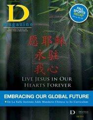 magazine - De La Salle Institute