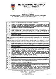 anexo d (mod.1) - Município de Alcobaça