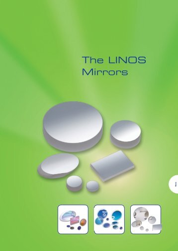 The LINOS Mirrors - Qioptiq Q-Shop