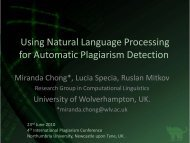 Using Natural Language Processing for Automatic Plagiarism ...