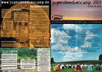 JUGENDMEDIENCAMP - Jugendmedienverband Mecklenburg ...