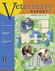 VetReport Winter06.indd - University of Illinois College of Veterinary ...
