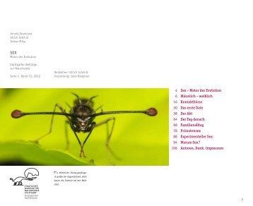 SEX – Motor der Evolution - Staatliches Museum für Naturkunde ...