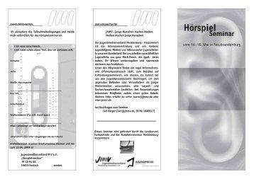 2004 Hoerspiel.pdf - Jugendmedienverband Mecklenburg ...