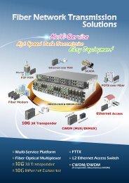 Multi-Service Platform - CTC Union Technologies Co.,Ltd.