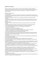 Voorlopige Bijzondere Veilingvoorwaarden - BVA Auctions