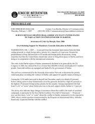 Press Release Worksheet - Greenberg Quinlan Rosner