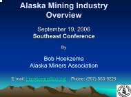 Pebble Mine Location - Southeast Conference