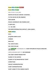 HO Circular 31/2002 - West Midlands Police Federation