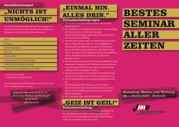 2009 Werbung Medien.pdf - Jugendmedienverband Mecklenburg ...