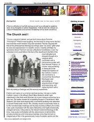 The Church and I - Defenders of the Catholic Faith