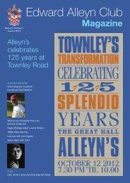 Magazine - Alleyn's School