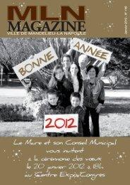 MLN Magazine de janvier 2012 - Mandelieu La Napoule
