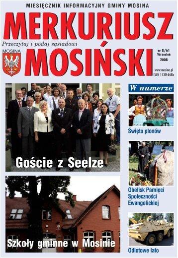 Wydanie nr 8/61 - Mosina, Urząd Miasta