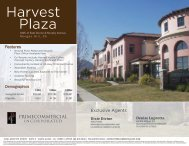 Harvest Plaza - Prime Commercial, Inc