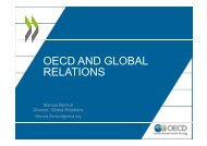 OECD AND GLOBAL RELATIONS
