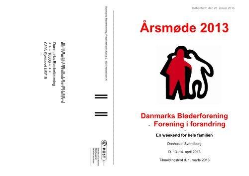 Læs invitationen her - Danmarks Bløderforening.