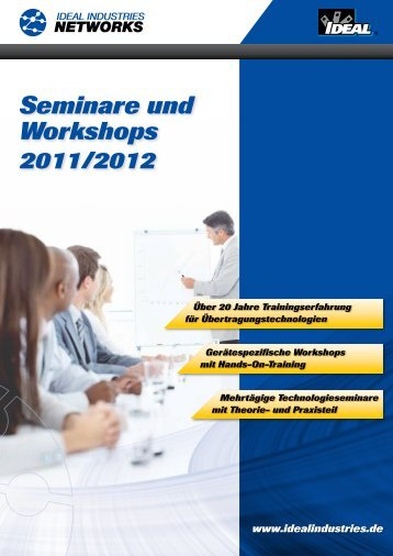 Seminare und Workshops - IDEAL INDUSTRIES