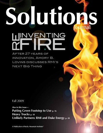 Reinventing Fire - Rocky Mountain Institute