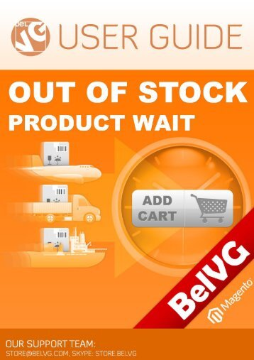 Out of Stock Product Wait User Guide - BelVG Magento Extensions ...