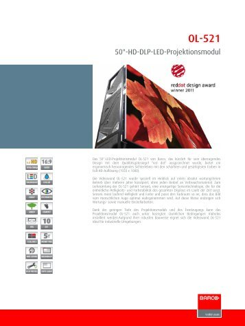 OL-521 50 Zoll Full-HD-DLP-LED-Projektionsmodul