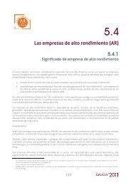 Las empresas de alto rendimiento (AR) 5.4.1 - Ardan
