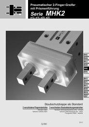 Serie MHK2 - Jensen Greiftechnik GmbH
