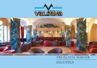 PREISLISTE WInTER - Sporthotel Valsana
