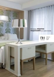 Informe Anual - Logo NH Hoteles - NH Hotels