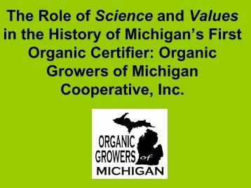 Organic Farming Exchange