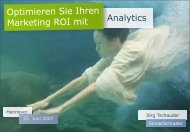 Der Vortrag zum Download - the Open Text Web Solutions ...