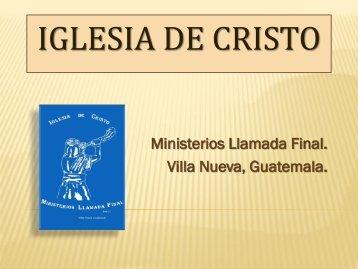 Los tribunales.pdf - IGLESIA DE CRISTO - Ministerios Llamada Final ...