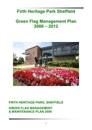 Management Plan for Firth Park - MP4-Interreg