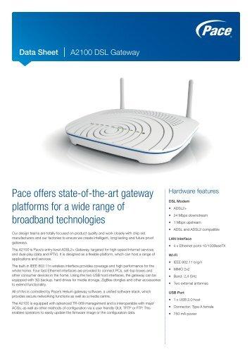 pace dsl gateway model 4111n manual