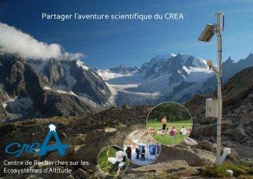 Partager l'aventure scientifique du CREA