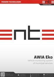 AWIA Eko Monitorowanie pojazdów służb komunalnych - ENTE