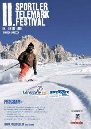 Flyer Telemark Festival - Moseralm