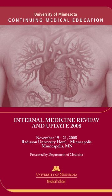 internal medicine review and update 2008 - Continuing Medical ...