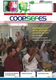 Assembleia Geral aprova resultados da ... - coopsefes.com.br