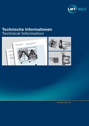 Technische Informationen Technical Information