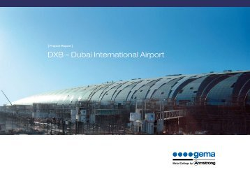 PRoject RePoRt DXB – DUBAI InTERnATIOnAl AIRPORT
