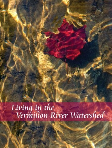 Living in the Vermilion River Watershed - Western Reserve Land ...