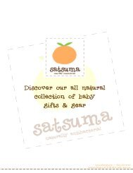 Satsuma Designs Fall 2010.pub (Read-Only) - The Giggle Guide