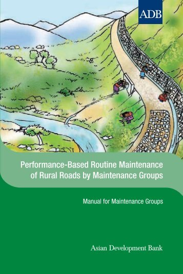 Performance-Based Routine Maintenance of Rural Roads by ...
