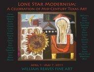 Lone Star Modernism: - William Reaves Fine Art