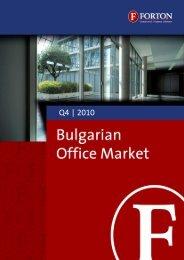 Bulgarian Office Market – Q4, 2010.pdf - Forton