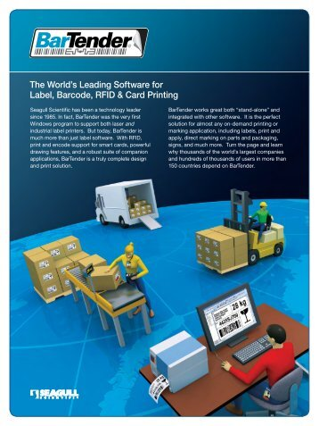 The World's Leading Label & RFID Software - Barco